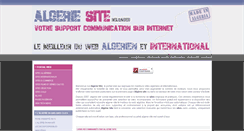 Preview of algerie-site.net